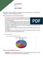 20th Livestock Census in India