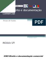 Direito e documentação comercial