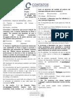 Língua Portuguesa - Lista de exercicio AOCP