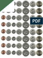 Monedas dolar
