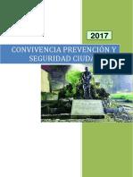 Convivencia  Prevención Y Seguridad Ciudadana