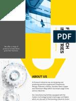 Framech Product Brochure Sm 0619