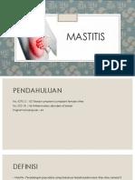 Mastitis - Sgl