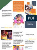 mental health and mental disorders brochure