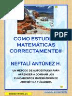 283662575 Como Aprender a Estudiar Matematicas