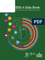 SDG 4 Data Book GLOBAL EDUCATION INDICATORS 2018