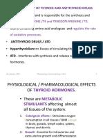 Of Thyroid and Antithyroid Drugs- Part II