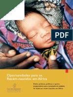 Oportunidades Para Recém Nascidos Na Africa