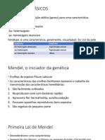 Conceitos Básicos Aula Genetica