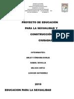Proyecto de Sexualidad 2019