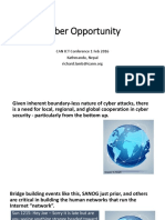 Cyber Opportunity