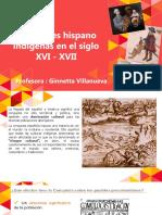 Relaciones Hispano Indigenas 3ro Medio 2019