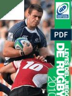 Leyes Del Rugby 2010