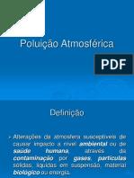 Poluição Atmosférica Aula 1