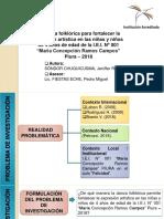 LA DANZA FOLKLORICA PARA FORTALECER LA EXPRESION ARTISTICA EN LAS NIÑAS Y NIÑOS DE 4 AÑOS DE EDAD.pptx