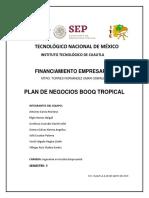 1. Plan de Negocios