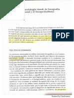 Becker Sociología / soc visual