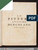 Las antigüedades de Herculano tomo 1