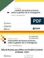 Dante Elias y Jorge Pinto-Vinculación de La Investigación Con El Sector Productivo