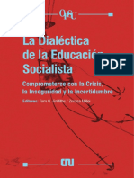 La dialéctica de la educación socialista