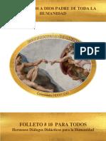 Folleto-10 Dios Padre de Toda La Humanidad 2019-3