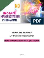 IMP Train the Trainer