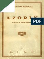 Azorin Ensayo de Critica Literaria