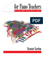 Stewart Gordon - Etudes for Piano Teachers_ Reflections on the Teacher's Art (1995, Oxford University Press, USA).pdf