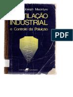 DocGo.net-MACINTYRE, Archibald J. Ventilação Industrial e Controle Da Poluição. 2. Ed. São Paulo; LTC, 1990.PDF Modificado