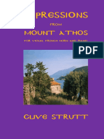 Impressions from Mount Athos  for violin, French horn and piano / Clive Strutt