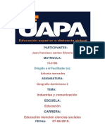 Tarea 5 y 6 Geografia Dominicana 2