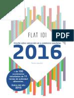 Estudio Ecommerce 2016 Flat101