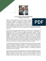 Sintesis Curricular Luis Peñalver Bermúdez