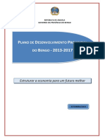 Plano de Desenvolvimento Provincial Do Bengo 2012-2017