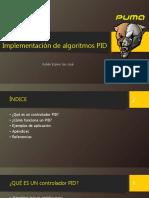 Implementación de Algoritmos PID