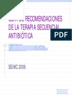 Tera Pia Secuencia l Antibiotic A