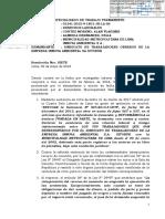 JUZGADO DE TRABAJO SUSPENDE CONCURSO DE LIMPIEZA PUBLICA DE LIMA