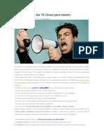 Manual de Manejo de Clientes Dificiles
