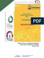 Programa Nacional de Formación e Investigación Avanzada en Educación Especial