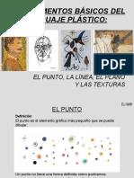 elementos básicos del lenguaje plástico