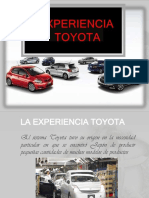 Toyota Experiencia