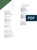 Kisi Kisi Praktek Basis Data