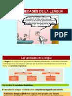 Variedades Lengua