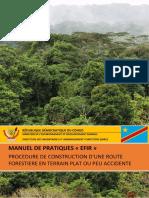 Manuel de Construction Dune Route Forestire EFIR