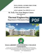 1.M.tech - Thermal Engineering