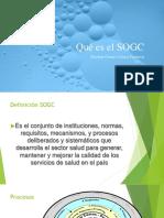Qué es el SOGC