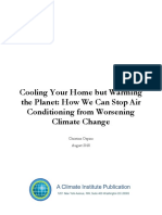 Cooling Your Home but Warming the Planet