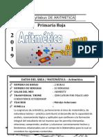 Syllabus de Aritmetica 2do