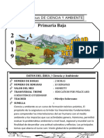 Syllabus de Ciencia y Ambiente 2do