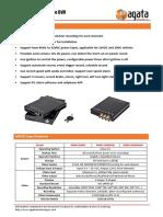 1080P SD Card MDVR Datasheet